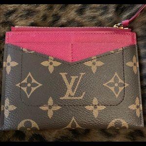 Louis vuitton zipped card holder wallet
